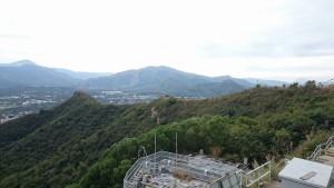 香港側から見た香港/上水周辺