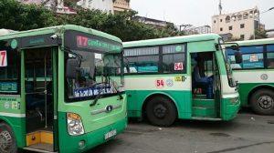 HCMCの路線バス(一例)